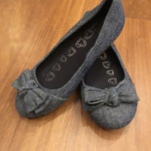 Other - Girls size 13 denim ballet flats